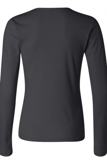 Bella long sleeve scoop back